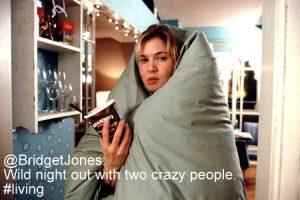 Bridget Jones JC Social Media