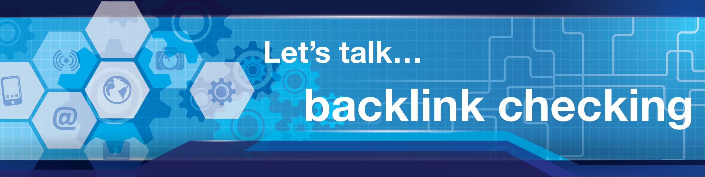 backlink checking