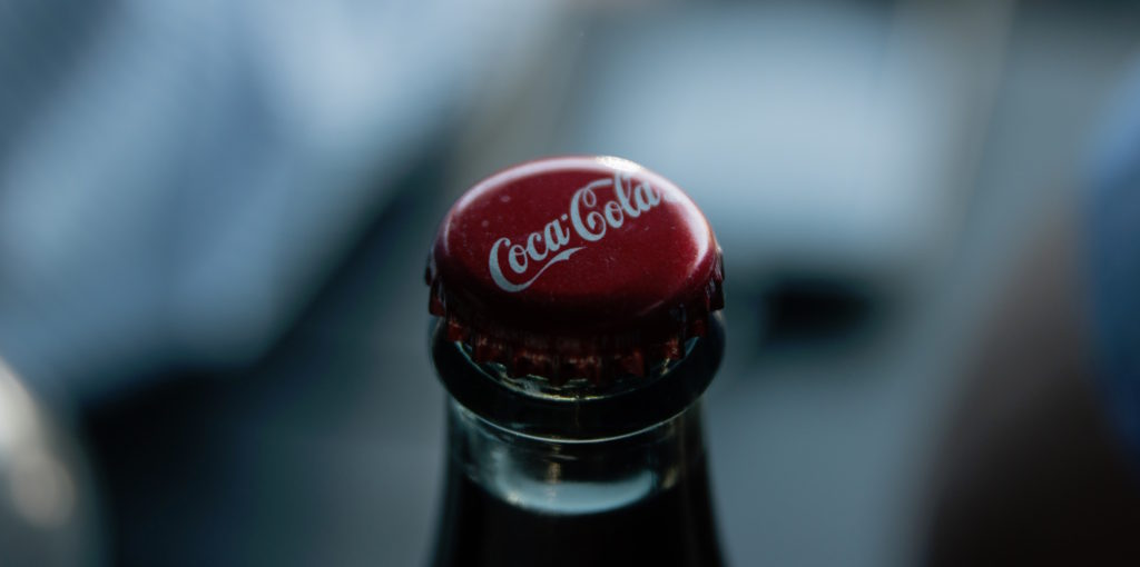 Coca-cola is an example of a large brand using social media marketing