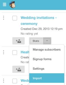 mailchimp wedding invitations 1