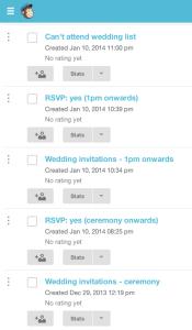 mailchimp wedding invitations 2
