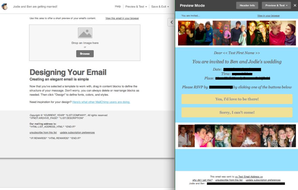 mailchimp wedding invitations 3