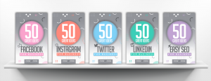 The five 50 Great Ideas book covers