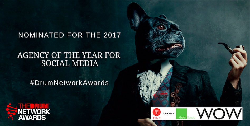 JC Social Media has been shortlisted for social media agency of the year