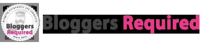 Bloggers Required blog and influencer outreach platform logo.