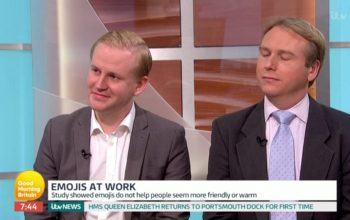 Our David on ITV Good Morning Britain | Using emojis in emails