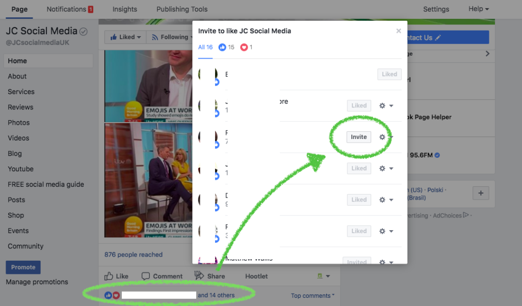 Quick and easy ways to increase Facebook page likes | JC