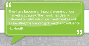 JC Social Media getting tangible ROI for clients