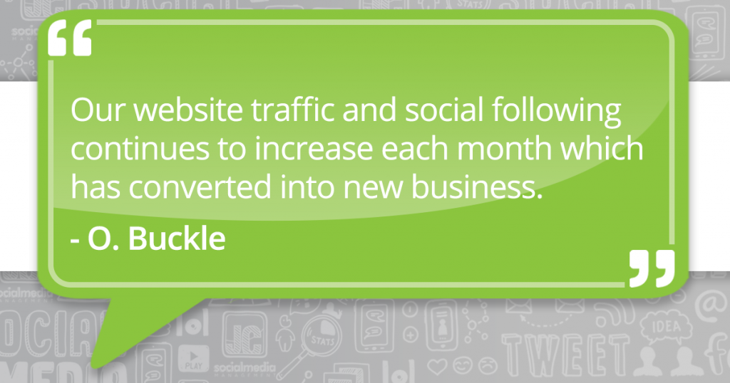 JC Social Media generating new business for clients
