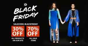 Black Friday sale graphic for social media