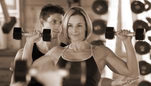Social media for a gym