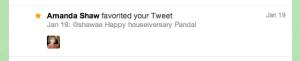 this is what it means when someone favourites your tweet