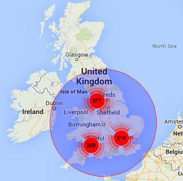 UK geocoding