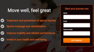 Facebook lead-generation for sports therapist
