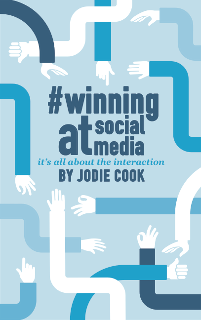 Winning on social media, a social media book