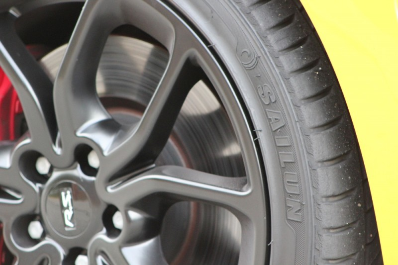 Social media for a tire brand